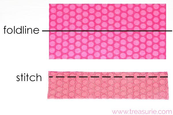 how to make a fabric bow 1