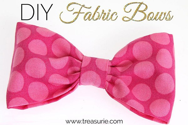 how to make a fabric bow 10c